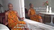 Mannequin depuis les années 80, Coco Mitchell parle mode et diversité