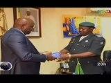 ORTM/Remise de carnet de PV aux Directeurs généraux de la police et de la gendarmerie lors du lancement de la campagne de lutte contre l'insécurité routière au Mali