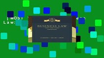 [MOST WISHED]  Business Law: Text and Cases
