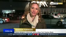 Work of Asian designers showcased at New York Fashion Week