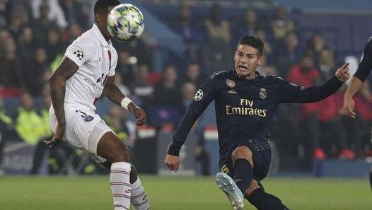 Real Madrid, James : « le PSG ne m'a pas surpris »