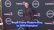 Steph Curry Preps For Next Years Olympics