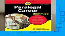 Paralegal Career For Dummies (For Dummies (Career/Education))  For Kindle