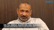 Malaysia Mental Health Film Festival Intro by Dr Abdul Kadir