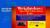 [READ] Wrightslaw: Special Education Law