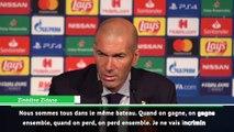 """PSG-Real, Zinedine Zidane : """"C'est la faute de tout le monde"""""""
