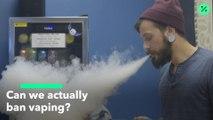 ¿Se pueden prohibir los cigarrillos electrónicos?