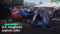 EE.UU. endurece normas de asilo