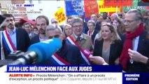 Jean-Luc Mélenchon est arrivé au tribunal de Bobigny, où il est jugé ce jeudi