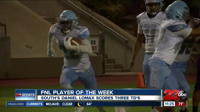 FNL Player of the Week: Daniel Lomax