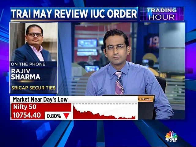Rajiv Sharma of SBICAP Securities on TRAI on IUC to zero