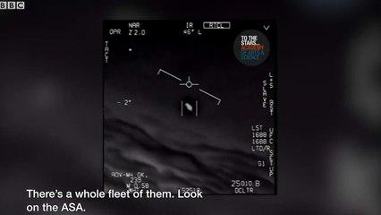 ABD Donanmasından çarpıcı itiraf! UFO'lar gerçek...