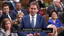 """Polémique """"blackface"""" au Canada, Justin Trudeau attaqué en pleine campagne électorale"""