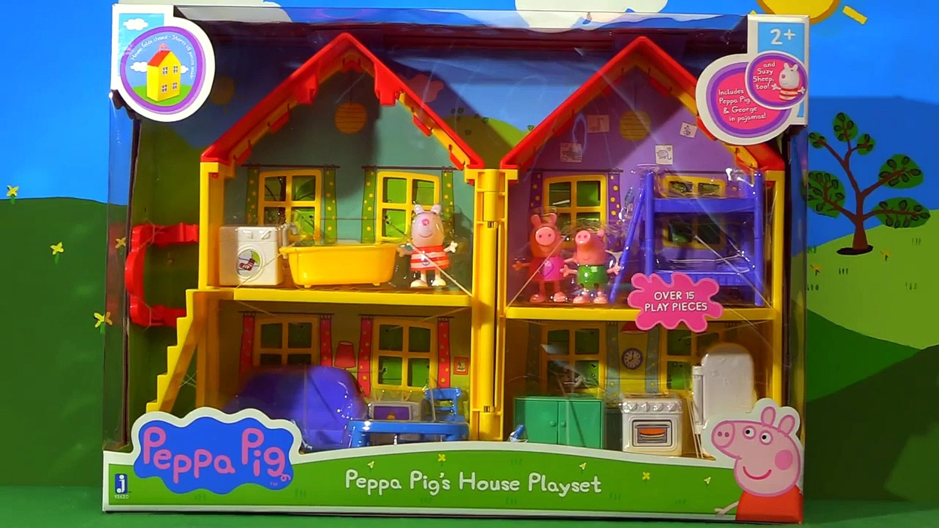 Peppa Pig House Playset Toy Surprises English Video Dailymotion