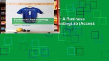 [FREE] Financial Accounting: A Business Process Approach (MyAccountingLab (Access Codes))