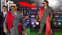 Ranveer Singh's quirky look at IIFA 2019;Watch video | FilmiBeat