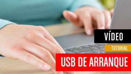 Crear USB de arranque en un pendrive