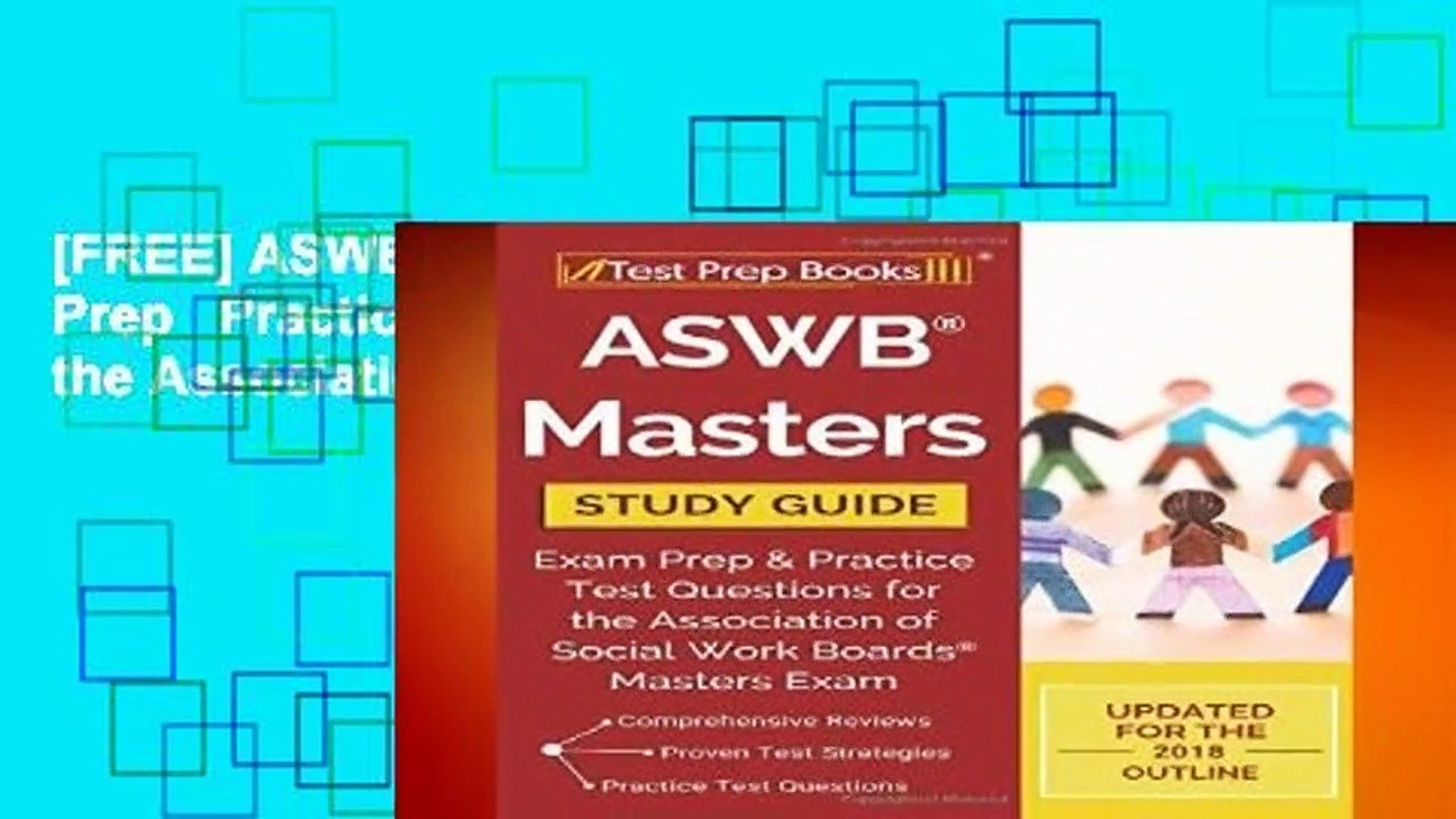 [FREE] ASWB Masters Study Guide: Exam Prep   Practice Test Questions for the Association of Social
