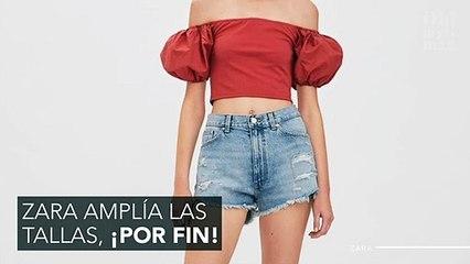 Los últimos modelitos de Zara que encontrarás desde la XS hasta la XL