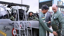 Rajnath Singh Becomes The First Defence Minister To Fly In Tejas Fighter Jet