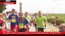 Replay Marathon du Médoc  2019-Ambiance sur la parcours 12 / runners atmosphere on the way 12