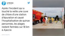 Ajaccio : Après l'incident sur une cuve de chlore, les plages restent fermées