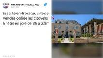 Le maire d'un village de Vendée prend un arrêté pour obliger ses concitoyens à « être en joie »