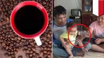 Bayi 14 bulan minum 5 gelas kopi tiap hari, karena orangtua tak mampu beli susu - TomoNews