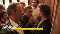 """Perquisition chez LFI : Mélenchon jugé pour """"rébellion, provocation et acte d'intimidation"""""""
