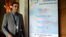 VETSCI 2016 Dr Alireza Raayat Jahromi - Global Science and Technology Forum