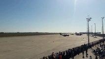 Bakan Pakdemirli 'hurda' demişti: THK uçağı Teknofest'te temsili yangın söndürme uçuşu yaptı