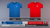 Match Preview: Everton vs Sheffield United on 21/09/2019