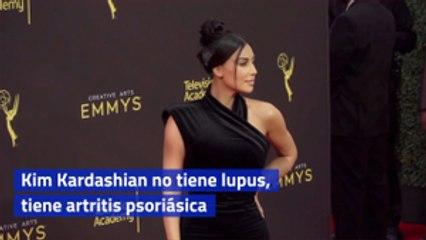 Kim Kardashian no tiene lupus, tiene artritis psoriásica