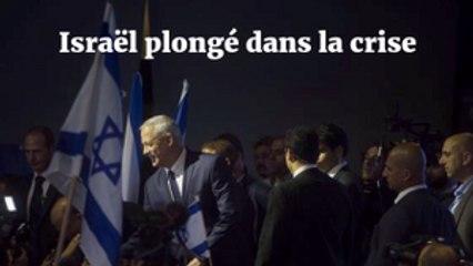 Égalité entre Nétanyahou et Gantz, Israël plongé dans la crise