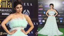 Mouni Roy looks beautiful in frilly gown at IIFA 2019 awards; Watch video | FilmiBeat