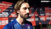 EuroVolley 2019 - La réaction Julien Lyneel après France / Italie