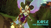 Kayle Champion Spotlight ,  Gameplay - League of Legends