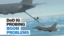DoD IG Probing Boom Problems | Defense News Minute, Sept. 18, 2018