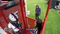 Pékin Express : Laetitia paniquée avant un saut à l'élastique pour la finale (vidéo)