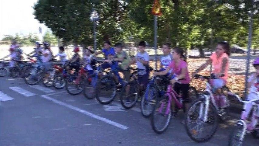 """""""Πήρε ξανά ζωή"""" το Πάρκο Κυκλοφοριακής Αγωγής στη Λαμία - Ενημέρωση των παιδιών για τους κανόνες κυκλοφορίας από την Τροχαία"""
