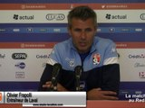 (J08) Toulon vs Laval, avant-match avec O.Frapolli