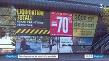Un magasin Go Sport de Paris s'excuse après avoir lacéré et jeté des chaussures invendues - La Secrétaire d'État Brune Poirson a demandé plus d'informations à l'enseigne
