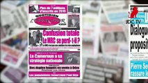REVUE DE PRESSE CAMEROUNAISE DU 19 SEPTEMBRE 2019