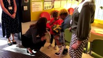 Kate Middleton Visits the Sunshine House Children and Young People's Health and Development Center