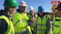VIDEO. Tours : le chantier de l'A10, terre de découvertes pour les lycéens