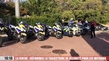 La Ciotat : découvrez la trajectoire de sécurité pour les motards