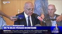 """Crash d'un F16 dans le Morbihan: """"Les deux pilotes sont indemnes"""", déclare le sous-préfet de Lorient"""