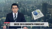 Growth forecast for Korean economy lowered by 0.3pp to 2.1% :OECD