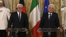 Mattarella riceve presidente Germania: Ue e Nato nostri pilastri