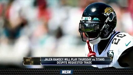 Jalen Ramsey Will Play For Jaguars In Thursday Night Football vs. Titans